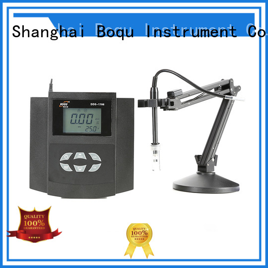 BOQU benchtop conductivity meter wholesale for biochemical industry