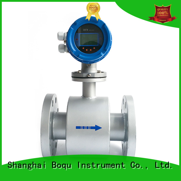 BOQU magnetic flow meter supplier for wastewater applications