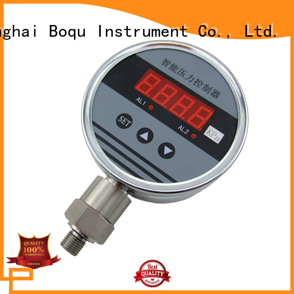 BOQU digital pressure gauge from China for hydroelectricity