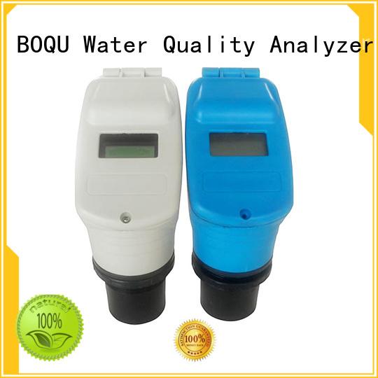 BOQU ultrasonic level sensor series for food processing industries