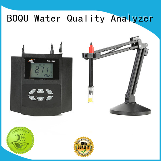 BOQU high accuracy lab ph meter from China for environmental protection