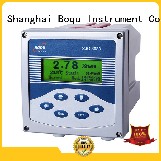 BOQU alkali concentration meter series for thermal power plants
