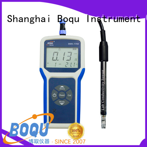 BOQU portable conductivity meter from China for sewage treatment