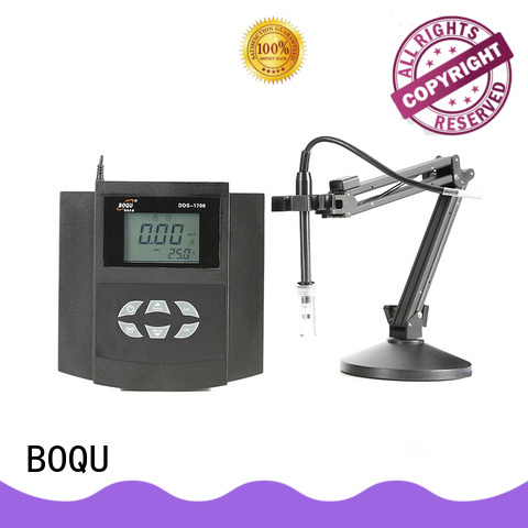 BOQU automatic benchtop conductivity meter manufacturer for biochemical industry