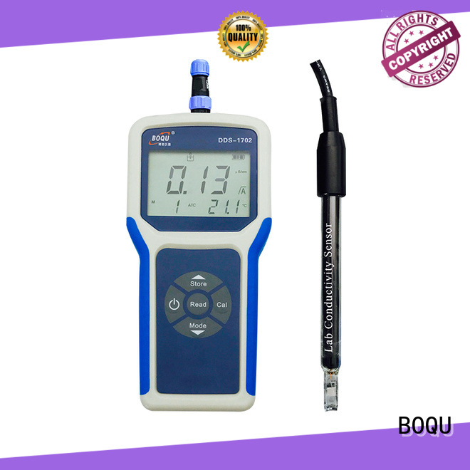 efficient portable conductivity meter from China for environmental monitoring