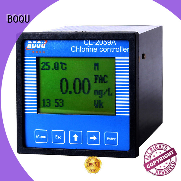 BOQU chlorine analyzer directly sale for hospitals