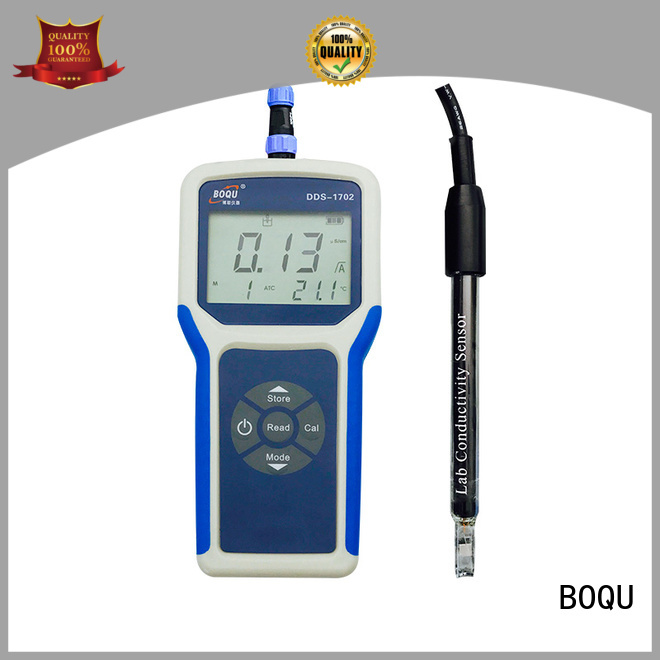 BOQU portable conductivity meter series for environmental monitoring
