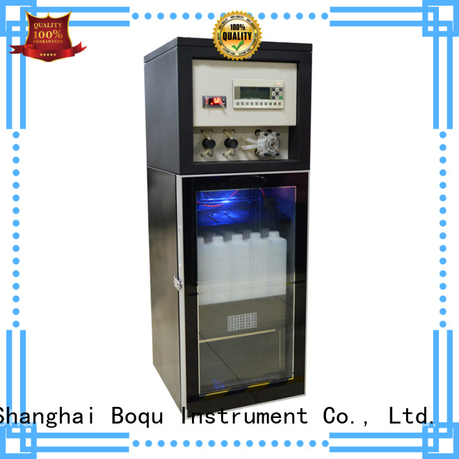 BOQU top automatic water quality sampler factory for water treatment process