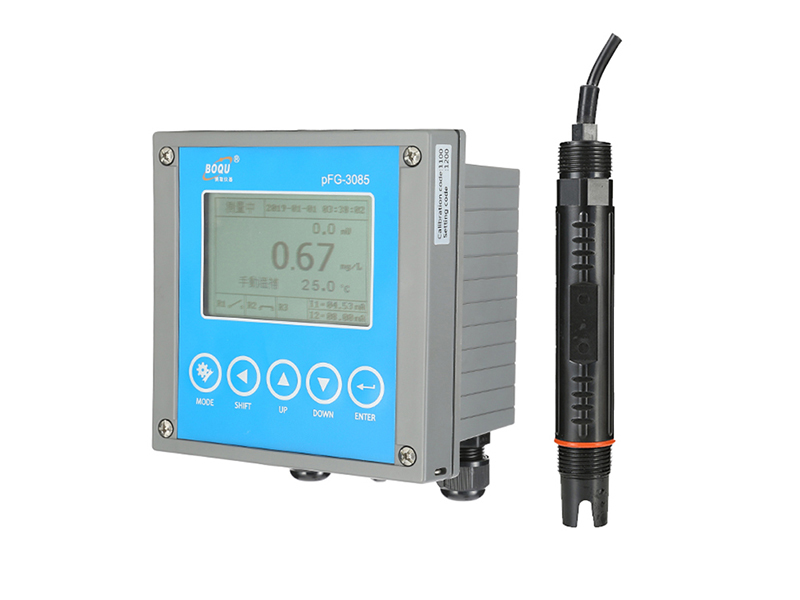 calibration of PFG-3085 Online Ion Meter