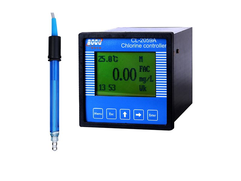 Calibration of CL-2059A Residual Chlorine Meter