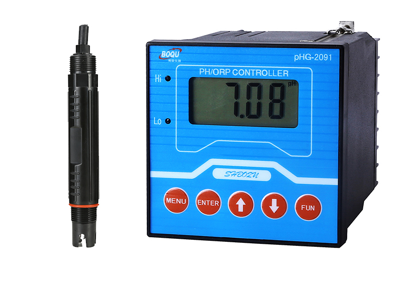 Calibration of PHG-2091 Online pH Meter