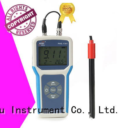 BOQU professional portable ph meter from China for research institutes