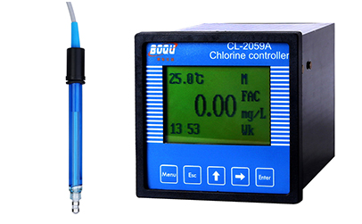 residual chlorine analyzer cl-2059a