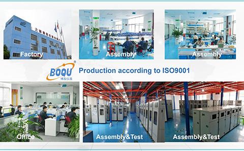 production line of boqu instrument