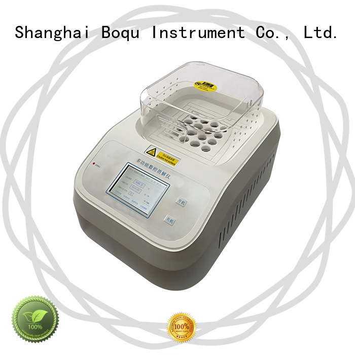 BOQU efficient cod analyzer manufacturer for wastewater treatment plants