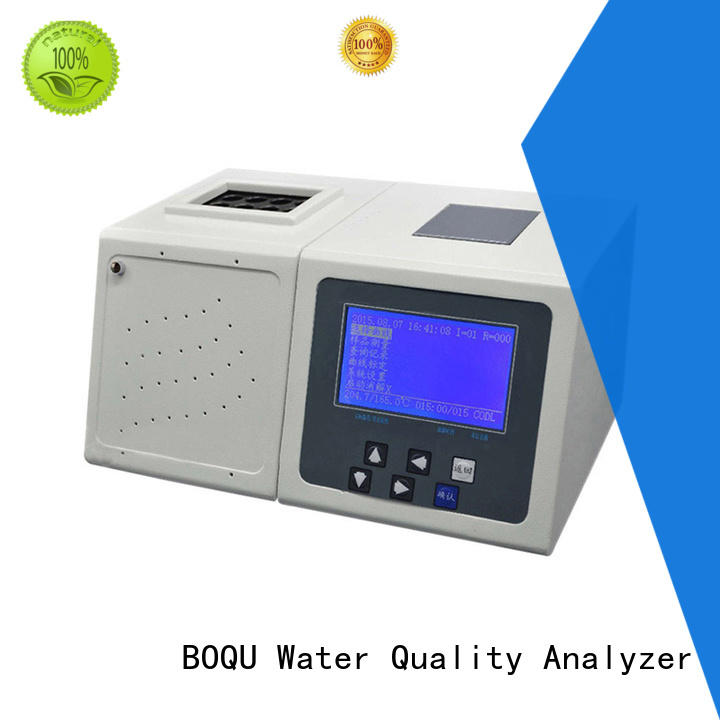 BOQU excellent cod analyzer manufacturer for wastewater treatment plants