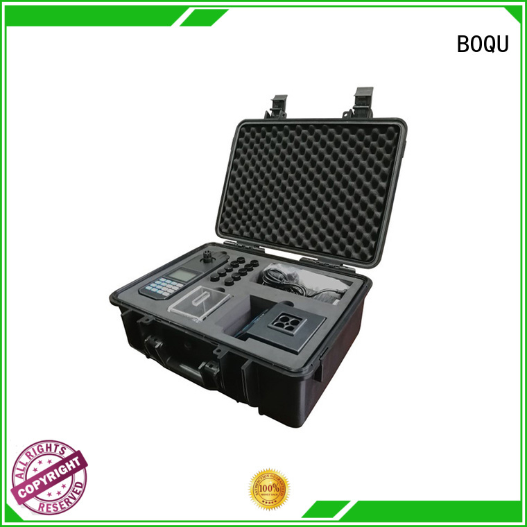 BOQU portable ammonia analyzer supply for industrial wastewater treatment