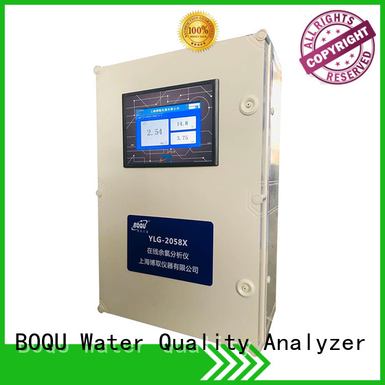 BOQU waterproof chlorine analyzer factory direct supply for hospitals