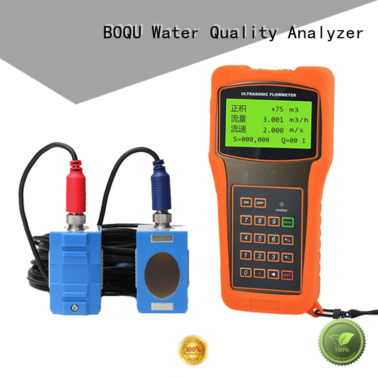 BOQU new ultrasonic flow meter factory for wastewater treatment plants