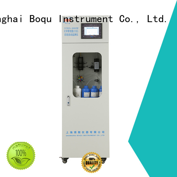 BOQU stable cod analyzer manufacturer for industrial wastewater treatment