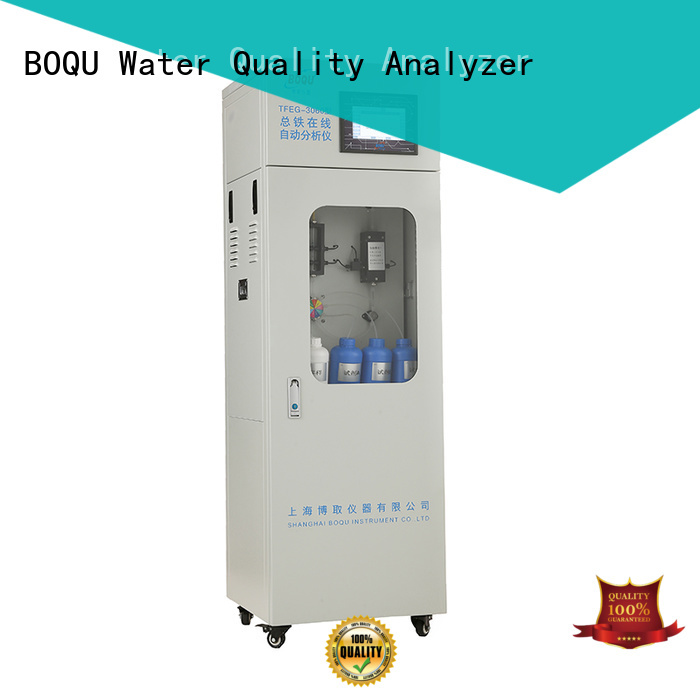 BOQU cod analyser manufacturer for industrial wastewater treatment