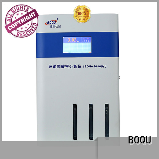 BOQU reliable online phosphate analyzer with good price for municipal wastewater effluents