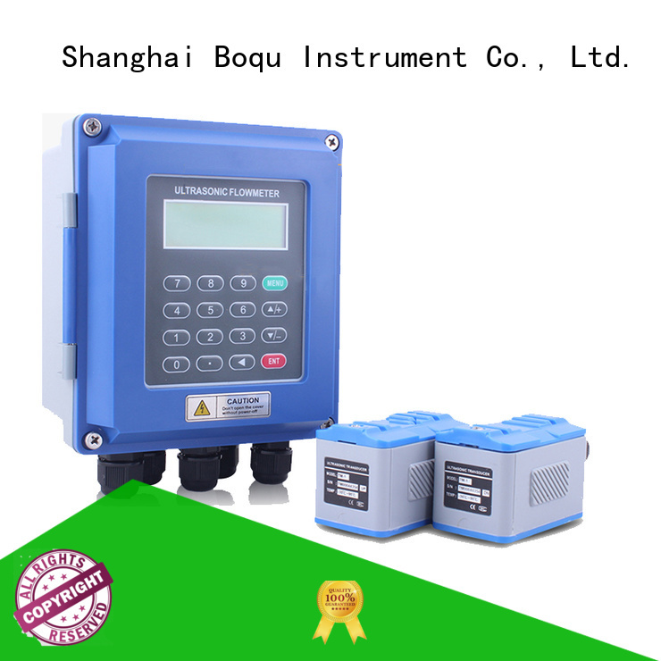 BOQU ultrasonic water flow meter suppliers for monitoring water pollution