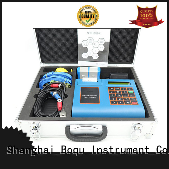 BOQU best ultrasonic water flow meter supply for wastewater treatment plants