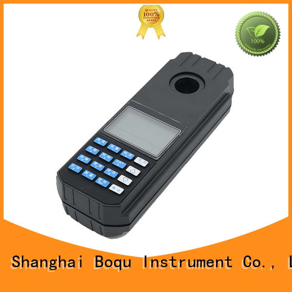 BOQU latest portable residual chlorine meter factory for wastewater treatment plants