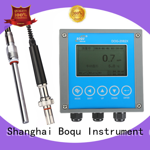 BOQU stable dissolved oxygen analyzer directly sale for fish hatcheries