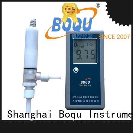 BOQU intelligent portable dissolved oxygen meter from China for sewage treatment