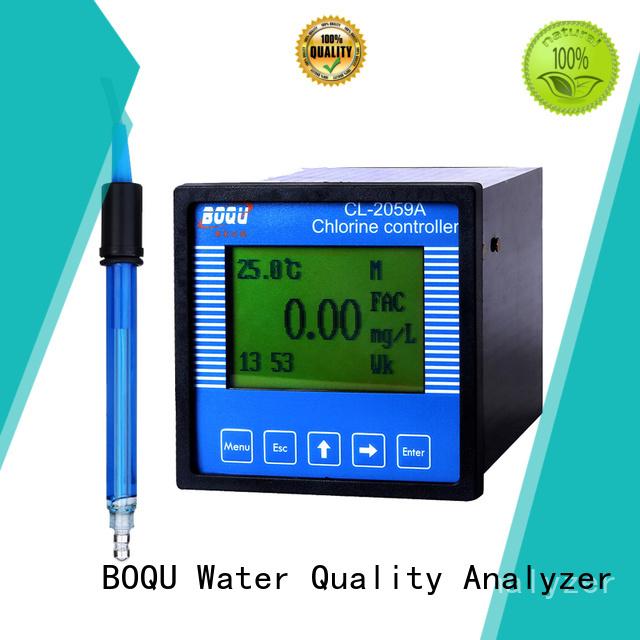 BOQU intelligent chlorine analyzer wholesale for water plants
