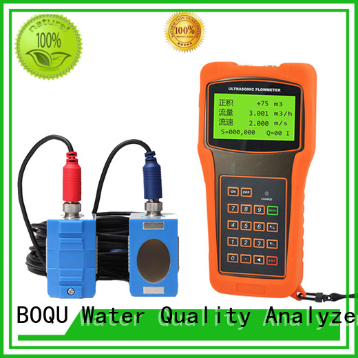 BOQU ultrasonic flow meter supply for wastewater treatment plants