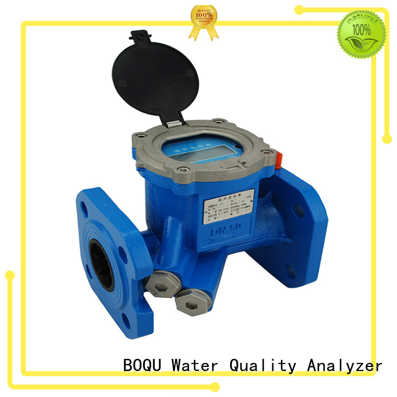 BOQU wholesale ultrasonic water flow meter suppliers for wastewater treatment plants