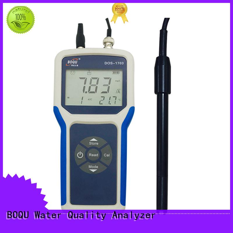 BOQU fast response portable dissolved oxygen meter wholesale for school laboratories