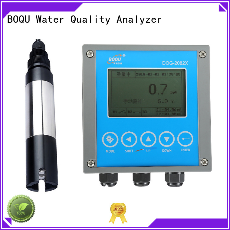 BOQU dissolved oxygen analyzer supplier for food production