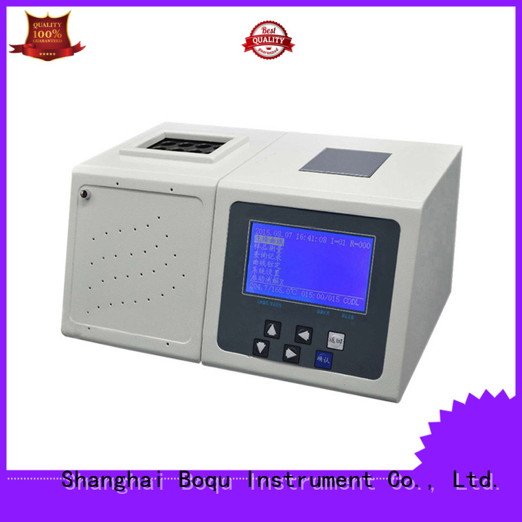 BOQU reliable cod analyzer manufacturer for waste water application
