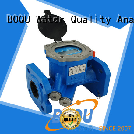 BOQU ultrasonic water flow meter supply for monitoring water pollution