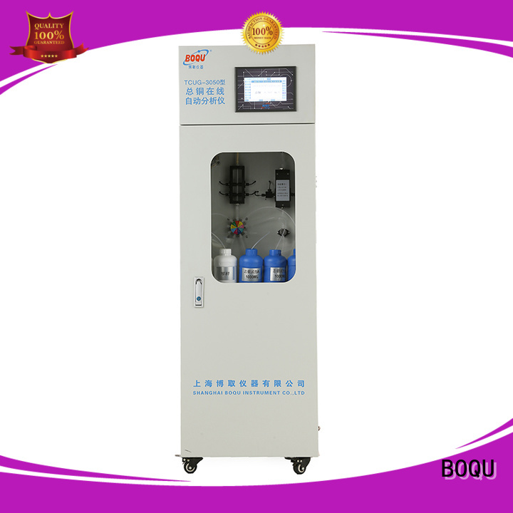 BOQU reliable cod analyzer manufacturer for industrial wastewater