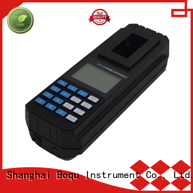 BOQU suspended portable tss meter manufacturer for industrial waste water