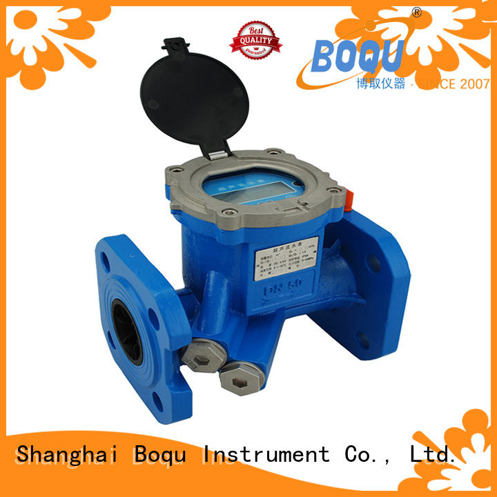 BOQU new ultrasonic water flow meter suppliers for wastewater treatment plants