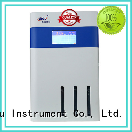 BOQU sodium analyzer supplier for biochemical engineering