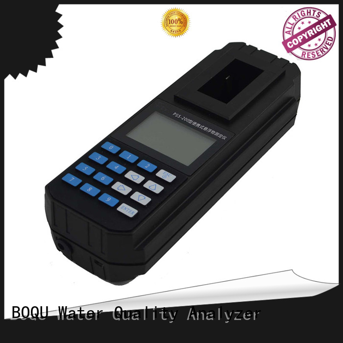 BOQU portable suspended solids meter factory direct supply for research institutes