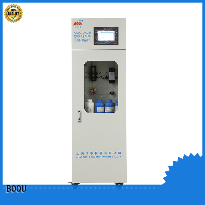 BOQU reliable cod analyzer manufacturer for industrial wastewater treatment