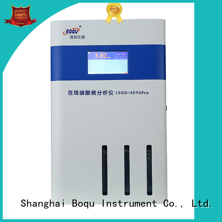 BOQU efficient online phosphate analyzer manufacturer for municipal wastewater effluents