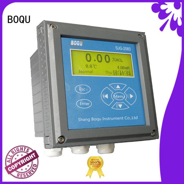BOQU intelligent alkali concentration meter manufacturer for thermal power plants