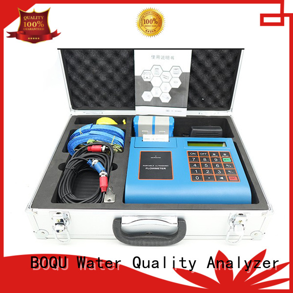 BOQU latest ultrasonic flow meter manufacturers for wastewater treatment plants