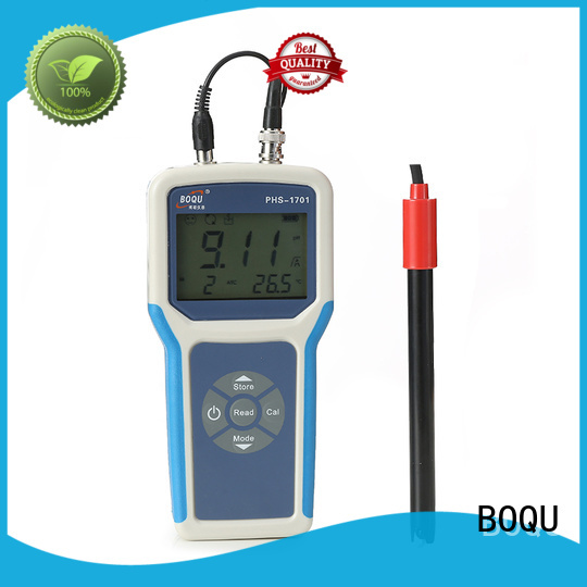 BOQU reliable portable ph meter directly sale for field sampling