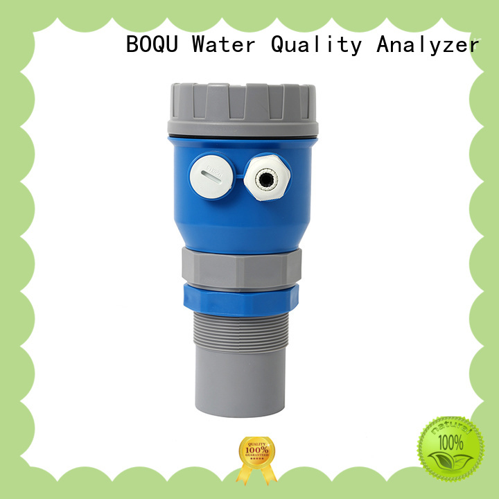 BOQU ultrasonic level meter series for water treatment