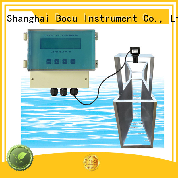 BOQU top ultrasonic flow meter factory for wastewater treatment plants